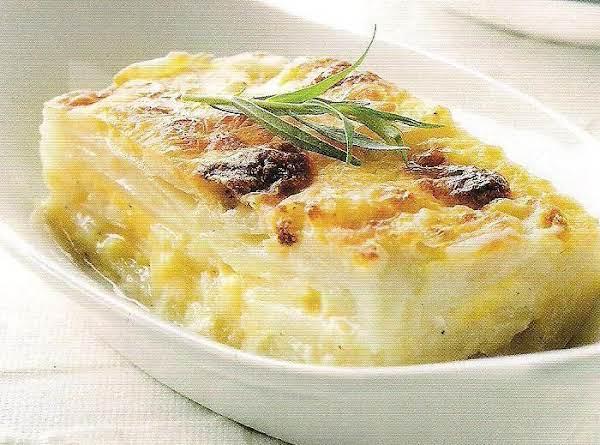 Healthy Simple Au Gratin Potatoes Recipe