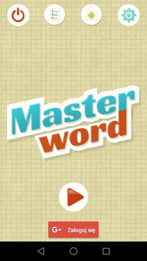 Master Word - Find the word