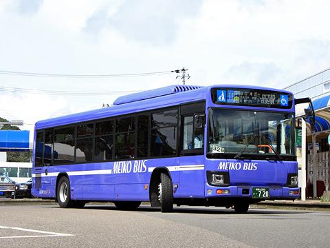 明光バス 田辺白浜線 ・720