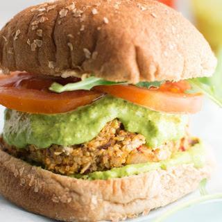 Italian White Bean Quinoa Veggie Burgers [Vegan, Gluten-Free].
