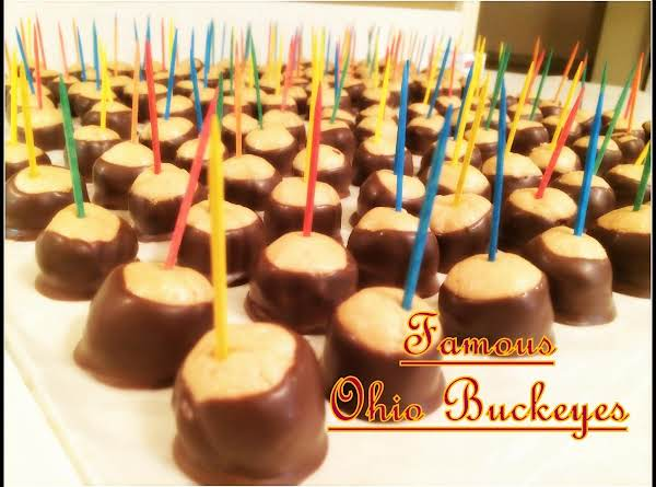 Famous Ohio Buckeyes Recipe