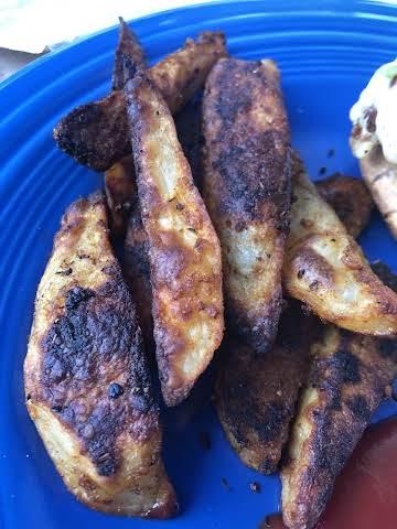 Cajun Oven-Roasted Potatoes