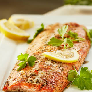 Fabulously Easy Herbed Salmon.
