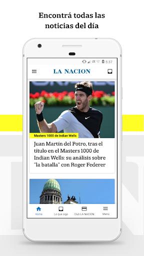 LA NACION y Club LA NACION 9.3.79 screenshots 1