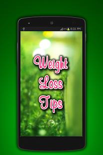 Weight Loss Tips screenshot