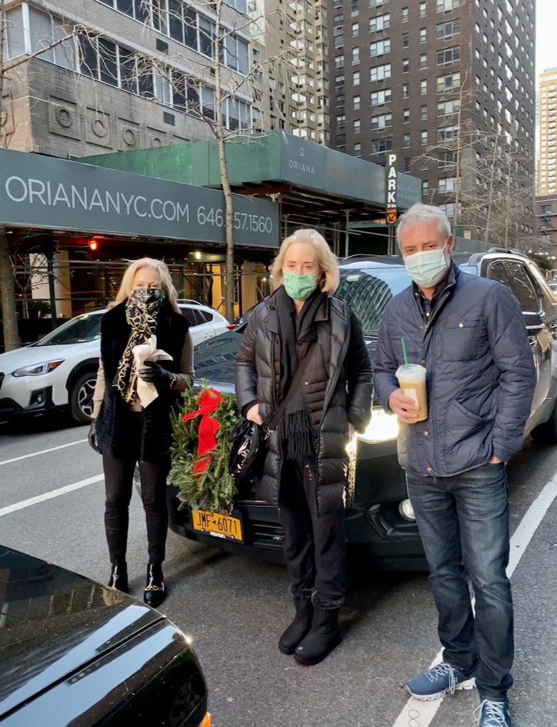New York Social Diary article by Karen Klopp & Hilary Dick on a  Covid Safe Road Trip from New York City to Florida.  Amy Hoadley & Jack Lynch