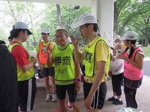 Photo: つい最近伴走1万キロを達成した、こちらも超人、リンリン。