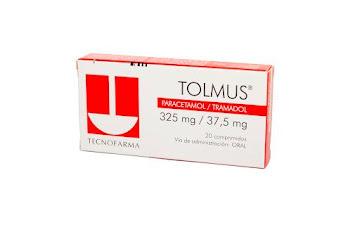 Tolmus 325/37.5Mg   Comprimidos Caja X20Com Aso Paracetamol Tramadol