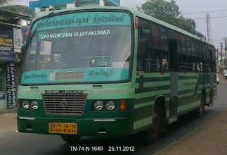 Photo: TN 74 N 1649 ROUTE NO-11A PADHMANABHAPURAM - ASHOK LEYLAND GUY