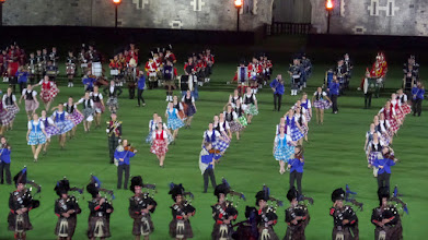 Photo: New Zealand dancers, Scottish bagpipes, an English drum corp, and many other groups participated in the event.
