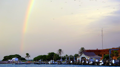 Photo: Ft. Jefferson Rainbow.