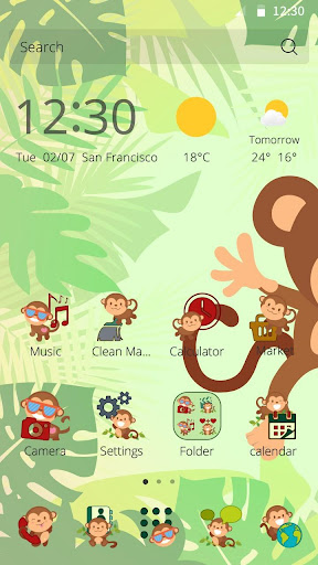 Jungle Monkey Theme