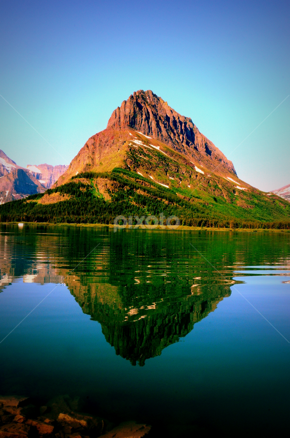 by Awesome Pics - Landscapes Mountains & Hills ( water, water reflection, nature, scenic, landscape, reflection, reflections, people, places, architecture, building,  )