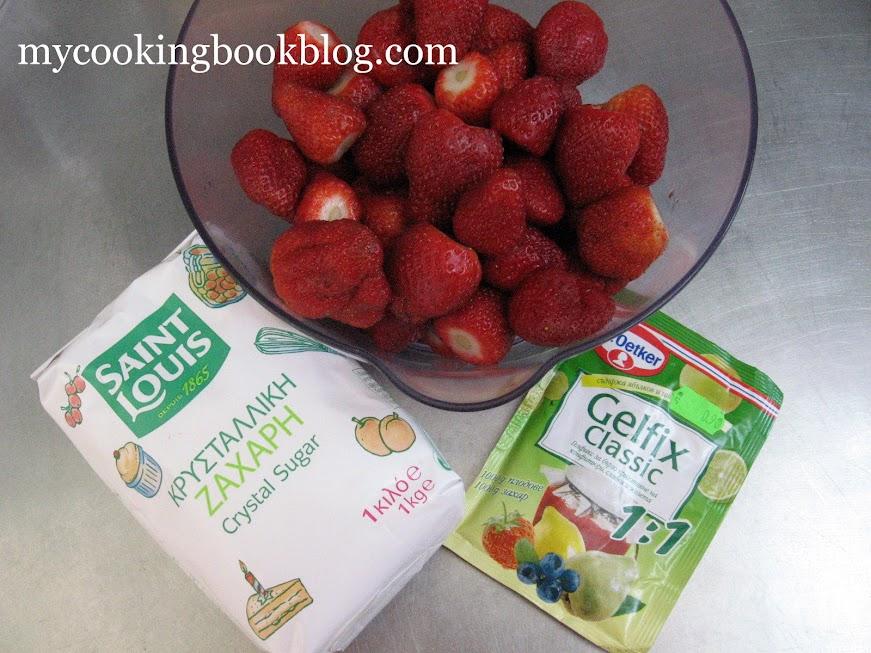 Сладко и конфитюр от ягоди с гелфикс на Dr. Oetker