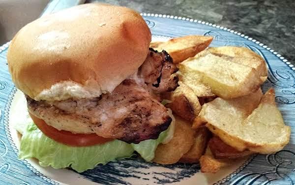 Grilled Marinated Chicken Sandwich