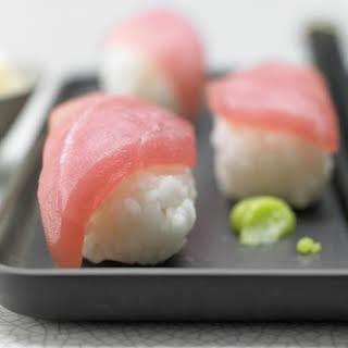 Tuna Sushi.
