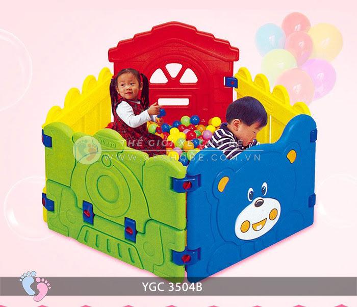 Nhà banh mini cho bé YGC-3504B 1