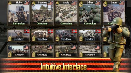 Frontline: Western Front - WW2 Strategy War Game screenshots 16