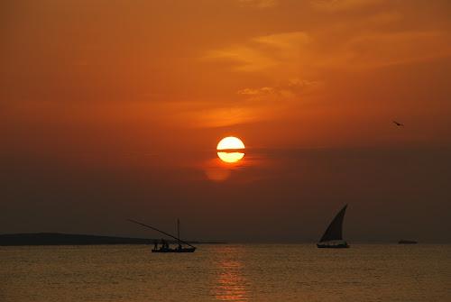 Suez Sunrise by Azzah Rahman - Landscapes Sunsets & Sunrises ( fishermen, ismailia, mediterranean, suez canal, sunrise, fajr, egypt )