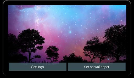 Nightfall Live Wallpaper Free screenshot 2