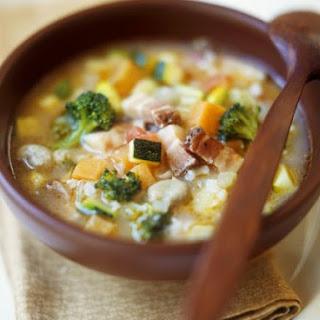 Italian Veggie and Rice Soup