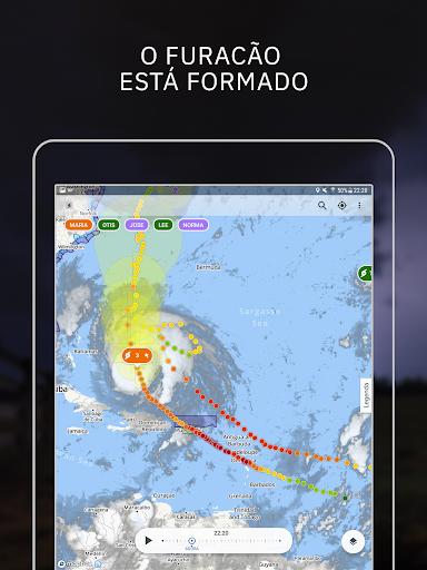 Storm Radar: mapa climático screenshot 11