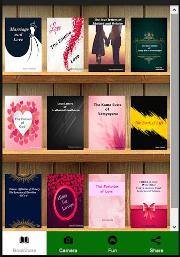 Free Love Story Books Reader  captures d'u00e9cran 2