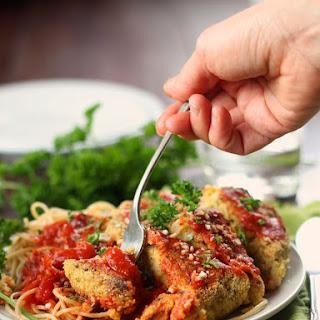 Vegan Chickpea Parmesan