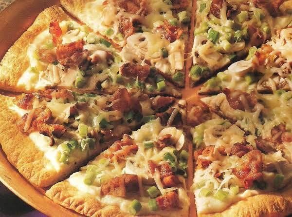 Pizza à La Carbonara