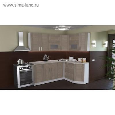 Кухонный гарнитур Лира мега прайм 2000*1500