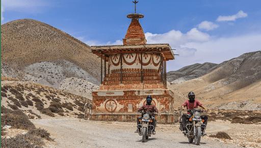 voyage moto au Népal
