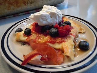 Pannaukkau (finnish Or Swedish Pancake) Recipe