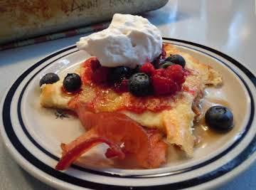 Pannaukkau (Finnish or Swedish Pancake)