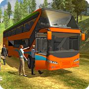 قبالة الطريق حافلة سياحية سائق