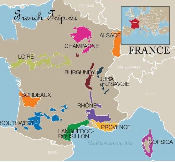 Классификация французского вина: виды французского вина, лучшие французские вина, как определить по этикетке качество вина, что значит AOC, французские вина