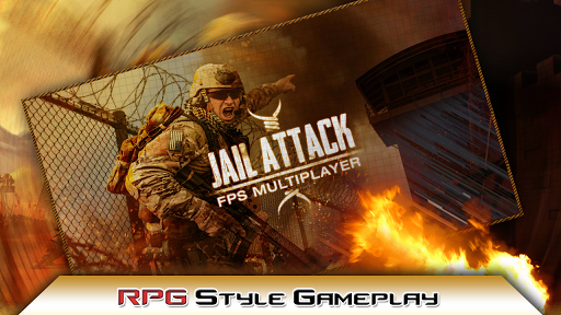 监狱攻击 - FPS多人游戏