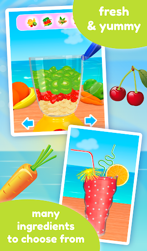 Smoothie Maker - Cooking Games apkpoly screenshots 14