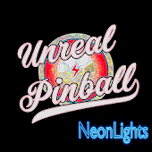 Unreal Pinball Neon Lights