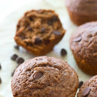 Double-Chocolate Brownie Muffins