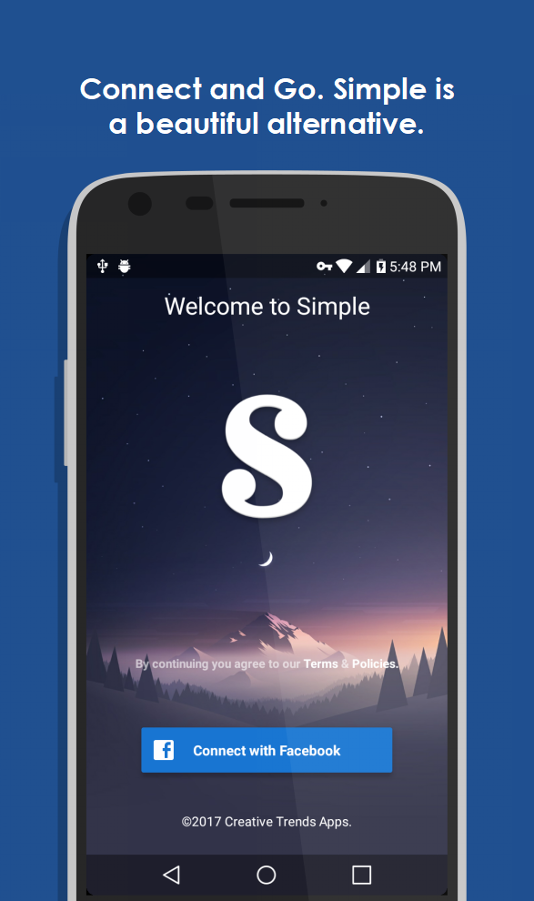 Simple Pro for Facebook & more Screenshot 0