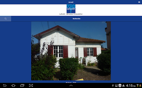 Agence immobili re lafor t dax apps on google play for Agence immobiliere dax