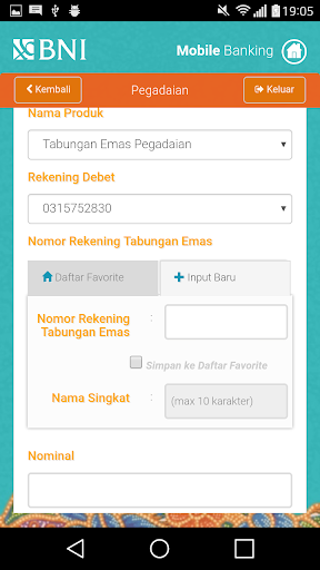 BNI Mobile Banking  screenshots 5