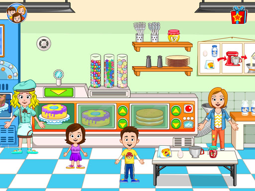 My Town : Bakery & Cooking Kids Game android2mod screenshots 12