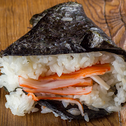 Crabmeat Riceball (Imitation)
