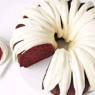 Easy Red Velvet Pound Cake.