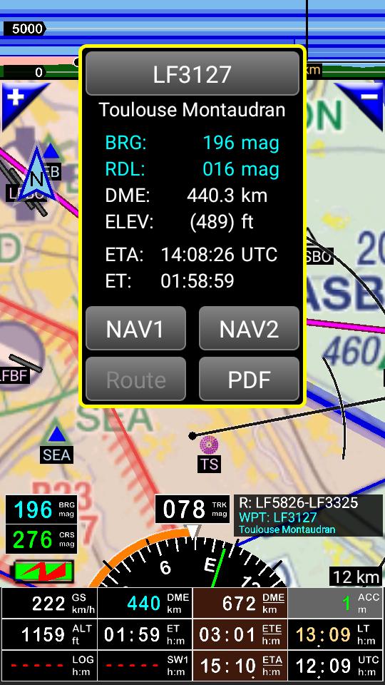 FLY is FUN Aviation Navigation Screenshot 1