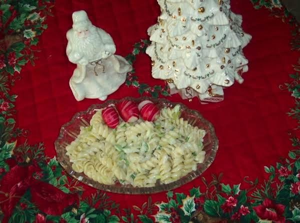 Twistin Pasta Salad