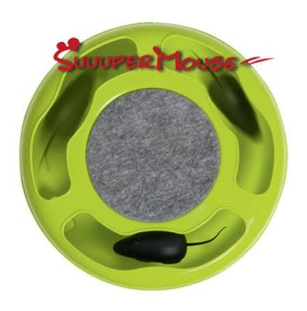 Suuuper Mouse Kattlek 24,5x7,5cm Mixade Färger