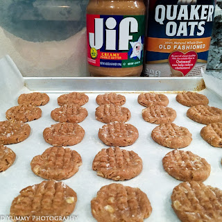 Buford's Easy Peanut Butter Dog Cookies