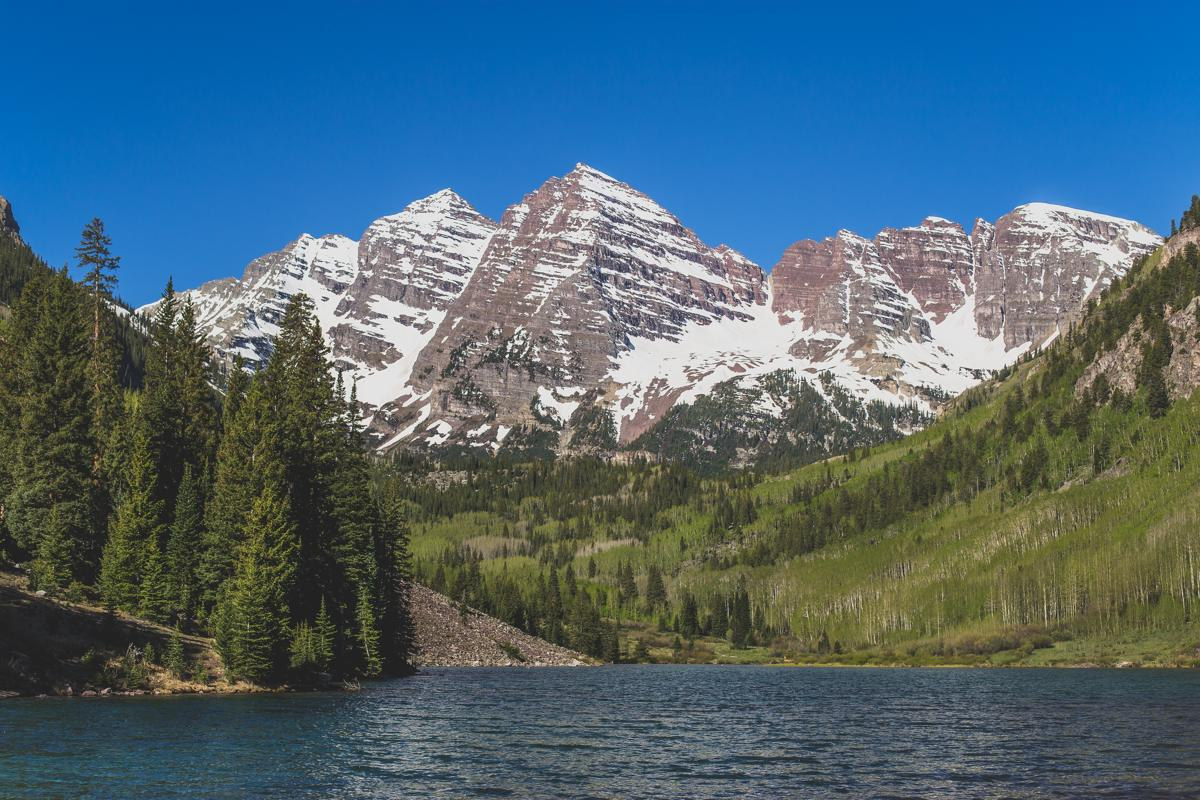 Maroon Lake is among the most photographed spots in the United States